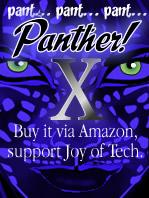 Joy of Panther!