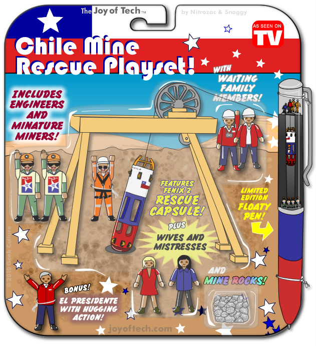 Chile Mine Rescue Playset