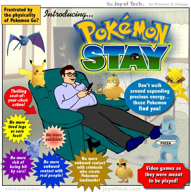the joy of tech comic pokemon stay