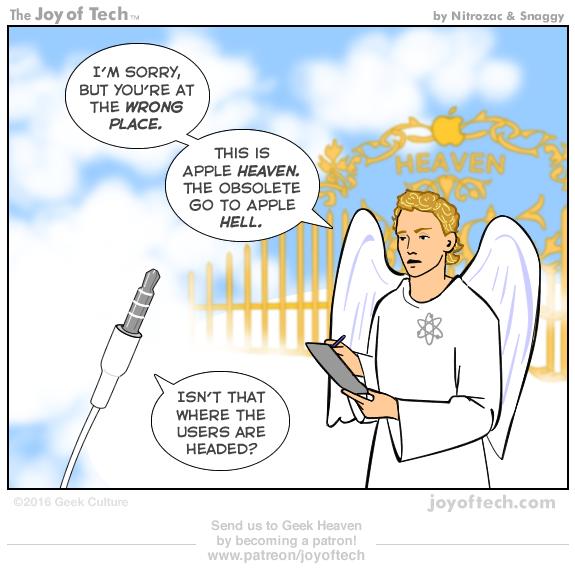 Headphone Jack at Heaven's Gate