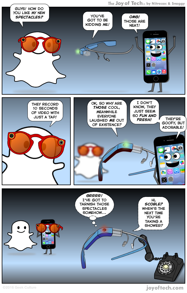 Snapchat is making a spectacle of itself!