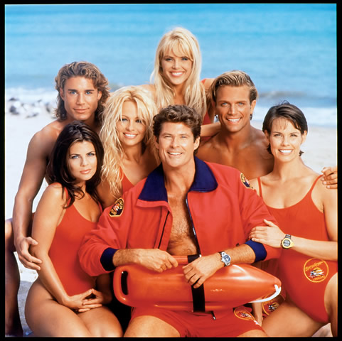 Yasmine Bleeth, who played lifeguard Caroline Holden, was at least one ...