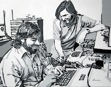 Wozniak y Jobs
