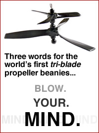 Three blade propellers!