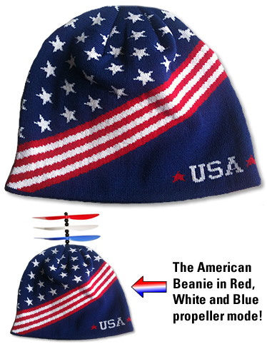 3a4dc57a3 The Patriotic Beanies!